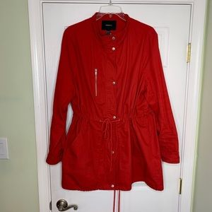 Red Anorak Jacket